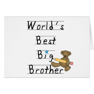 World s Best Big Brother Cards
