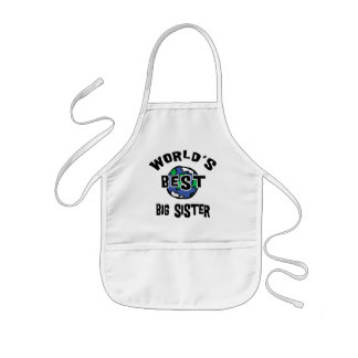 World s Best Big Sister Aprons