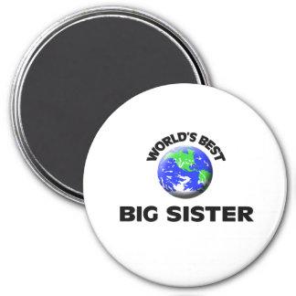 World s Best Big Sister Fridge Magnets