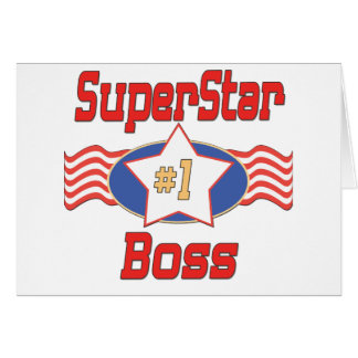 World s Best Boss Gifts Greeting Cards
