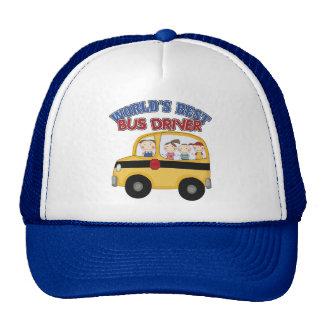 World s Best Bus Driver Trucker Hat