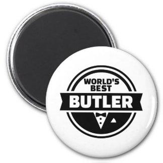 World's best butler magnet