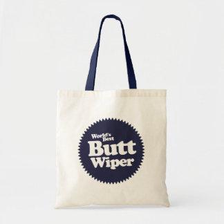 World s Best Butt Wiper Nurse CNA RNA Tote Bag