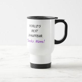WORLD S BEST CHAUFFEUR - travel mug
