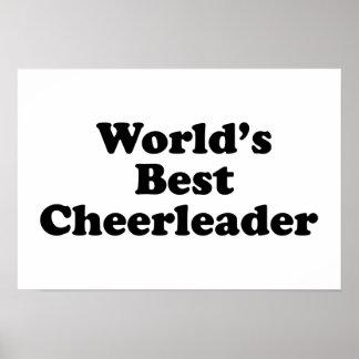 World s Best Cheerleader Posters
