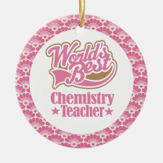 World's Best Chemistry Teacher Gift Ornament