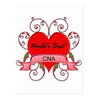 World s Best CNA Post Card