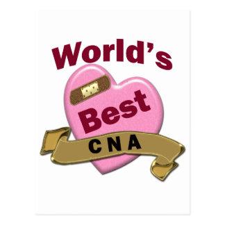 World s Best CNA Postcards
