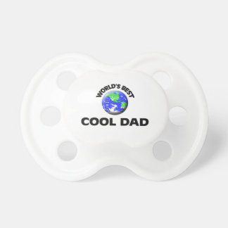World s Best Cool Dad Pacifier