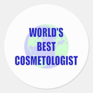 World s Best Cosmetologist Sticker