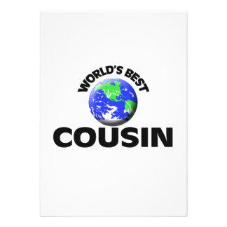World s Best Cousin Announcements