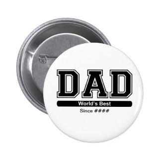 World s Best Dad Button
