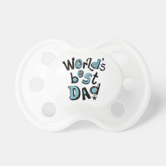 World s Best Dad Baby Pacifier