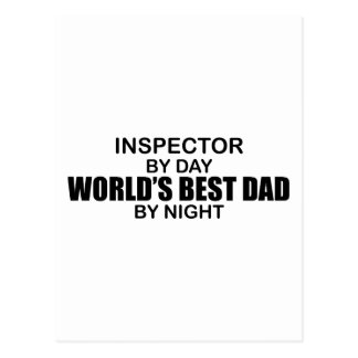 World s Best Dad - Inspector Post Card