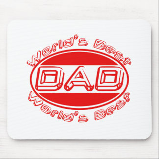 World s best Dad Mouse Pads