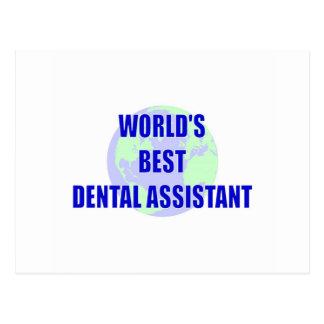 World s Best Dental Assistant Post Cards