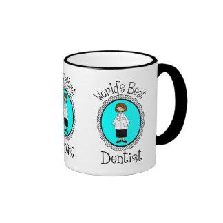 World s Best Dentist Female Tees and Gifts Coffee Mug
