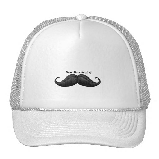 World's Best Desi Moustache – Waxed & Braided Hats