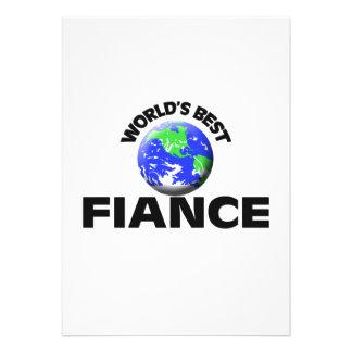 World s Best Fiance Announcement