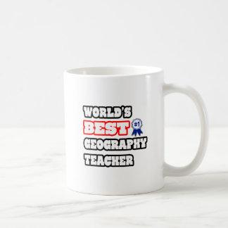World s Best Geography Teacher Coffee Mugs