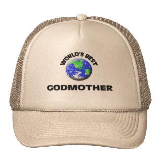 World s Best Godmother Mesh Hats