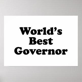 World s Best Governor Print