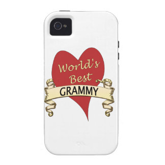 World s Best Grammy iPhone 4 Cover