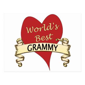 World s Best Grammy Postcards