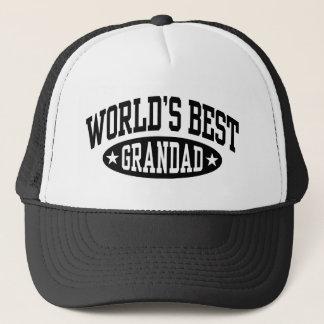 World's Best Grandad Trucker Hat