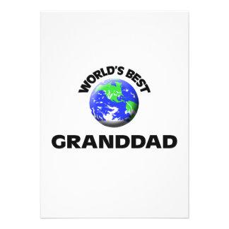 World s Best Granddad Card