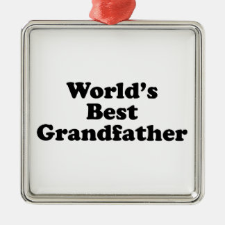 World s Best Grandfather Ornaments