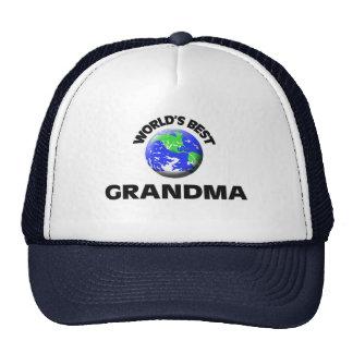 World s Best Grandma Mesh Hats