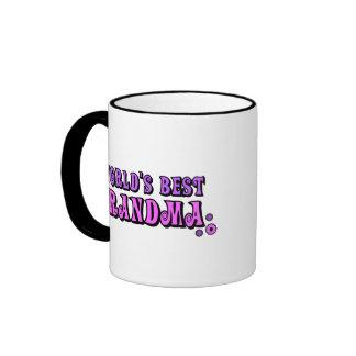 World s Best Grandma Coffee Mug
