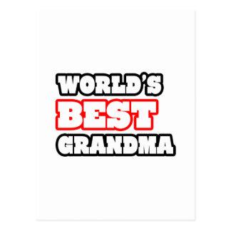 World s Best Grandma Postcards