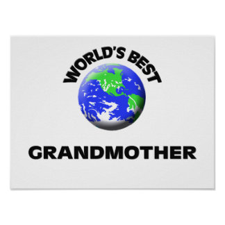 World s Best Grandmother Print