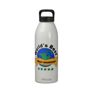 World s Best Great Granddad Drinking Bottles