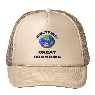 World s Best Great Grandma Hats