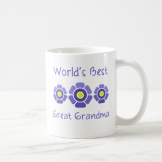 World s Best Great Grandmother Mugs