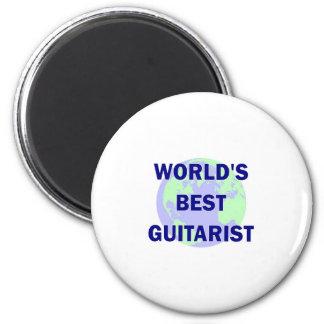 World s Best Guitarist Magnet
