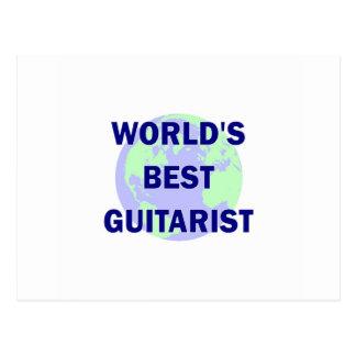 World s Best Guitarist Post Cards