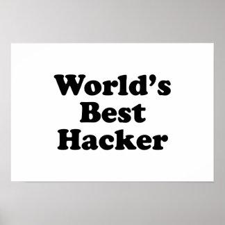 World s Best Hacker Print