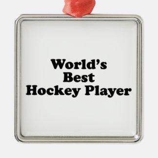 World s Best Hockey Player Ornaments