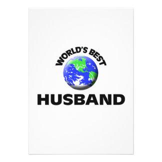 World s Best Husband Invites