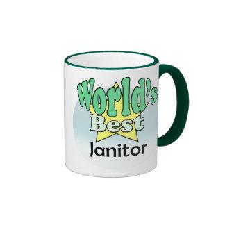 World s best Janitor Mug