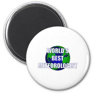 World s Best Meteorologist Magnet