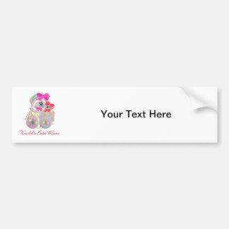 World s Best Mum bears Bumper Stickers