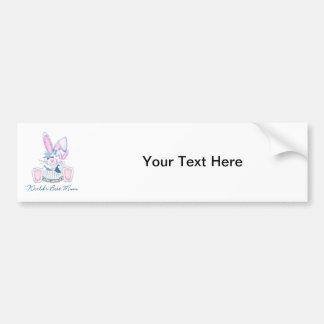 World s Best Mum bunnies Bumper Sticker