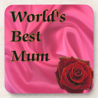 World,s Best Mum Coaster