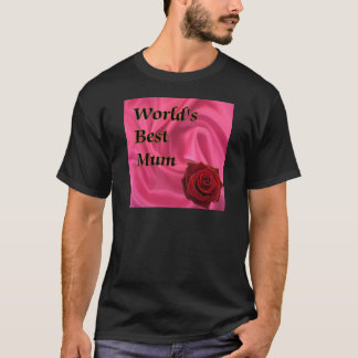 World,s Best Mum T-Shirt
