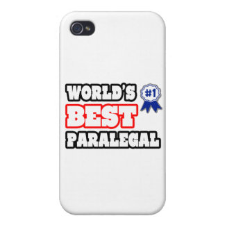 World s Best Paralegal Cases For iPhone 4